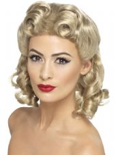 1940's Sweetheart Wig In Blonde